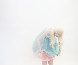 girl, pale, and pastel image