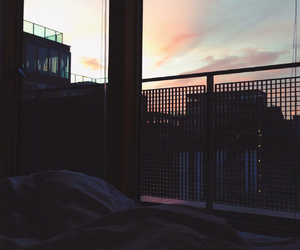beautiful, bed, and clouds image