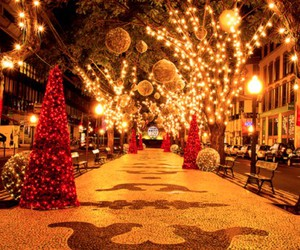 beautiful, lights, and new year image