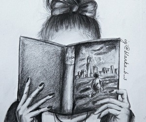 percy jackson, book, and art image