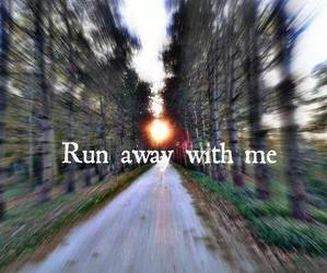 love, away, and me image