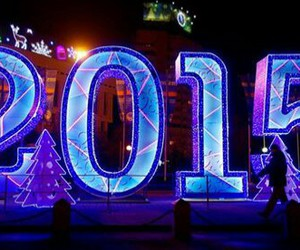 new year, winter, and celebrations image