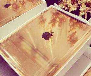 gold, ipad, and luxury image