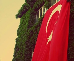 flag, turkey, and red image