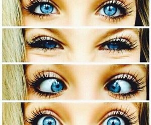 eyes, blue, and blue eyes image