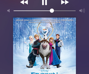 frozen, music, and olaf image
