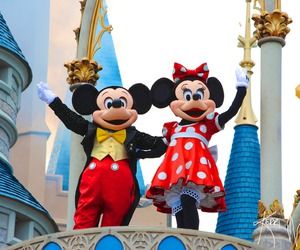 photography, disney, and mickey mouse image