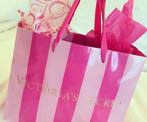 victorias secret, pink, and bag image