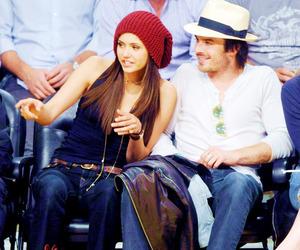 couple, ian somerhalder, and Nina Dobrev image