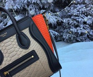 celine, bag, and fashion image