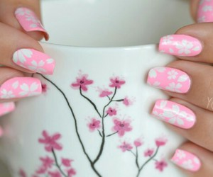 nails, pretty, and sweet image