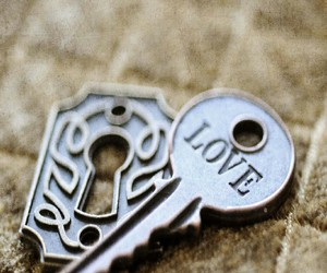 key and love image