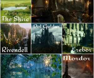 the hobbit, the shire, and mirkwood image