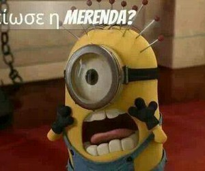 minions, merenda, and greek quotes image