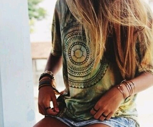 bohemian, style, and fashion image