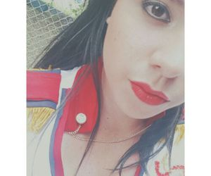 follow, lips, and red image