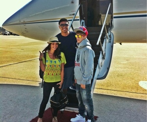 justin, plane, and bieber image