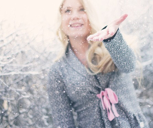 blond, cold, and december image