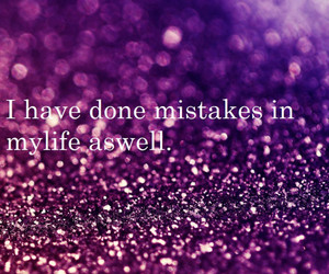 glitter, life, and mistakes image