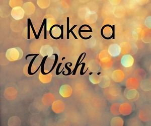 wish, quote, and gold image