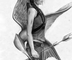 draw, drawing, and hunger games image