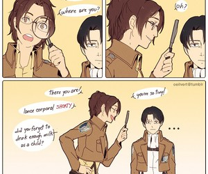 attack on titan and levi image