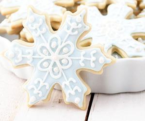 Cookies, snowflake, and christmas image