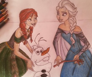 anna, art, and color image