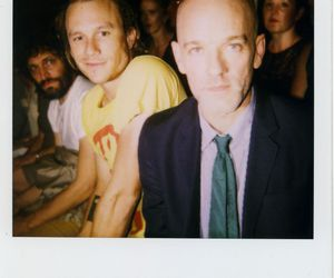 heath ledger and michael stipe image