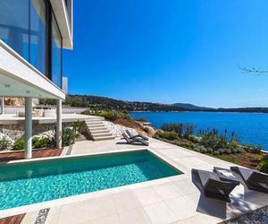house, luxury, and sea image