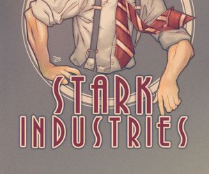 Marvel, howard stark, and stark image