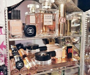 chanel and cosmetics image