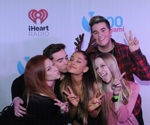 backstage, ariana, and fan image