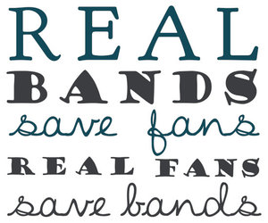 real fans and real bands image