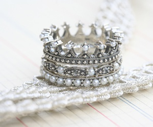 bague, crown, and ring image