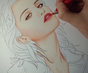 draw, drawing, and sky ferreira image