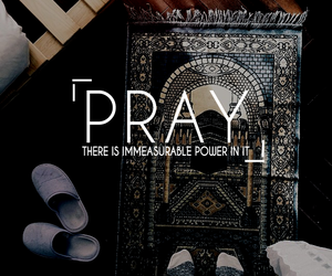 pray and islam image
