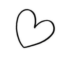 heart, love, and white image