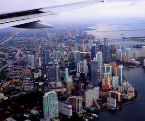 airplane, awesome, and city image