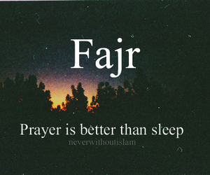 islam, prayer, and fajr image