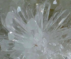 clear, crystal, and rock image
