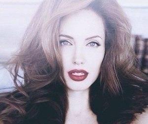 Angelina Jolie, sexy, and lips image