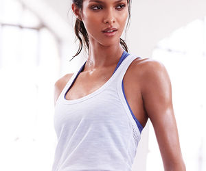fashion, fitness, and workout image
