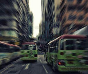 bus and city image