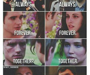 harry potter, twilight, and forever image