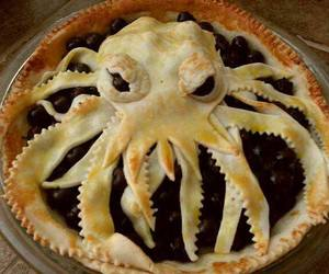 food, pie, and funny image