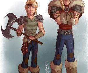 gender bender and how to train your dragon image