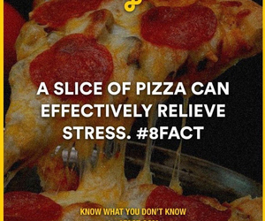 relieve, pizza, and stress image