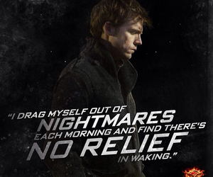 nightmare, mockingjay, and finnick image