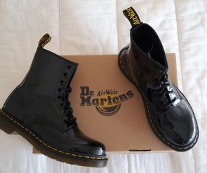 chaussures, dr. martens, and shoes image
